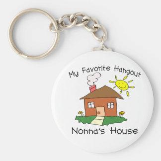 Favorite Hangout Nonna's House Keychain