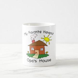 Favorite Hangout Opa's House Classic White Coffee Mug
