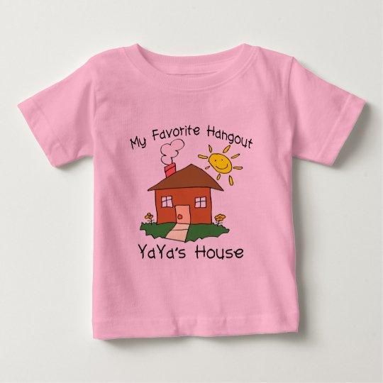 Favorite Hangout YaYa's House Baby T-Shirt