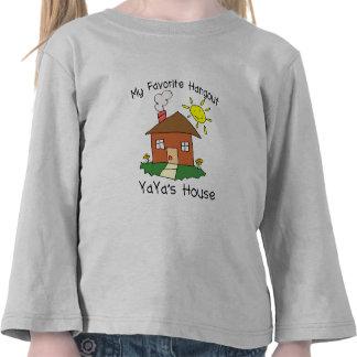 Favorite Hangout YaYa's House Tee Shirt