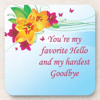Favorite Hello Hardest Goodbye Coasters