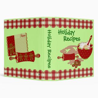 Favorite Holiday Recipes Binder