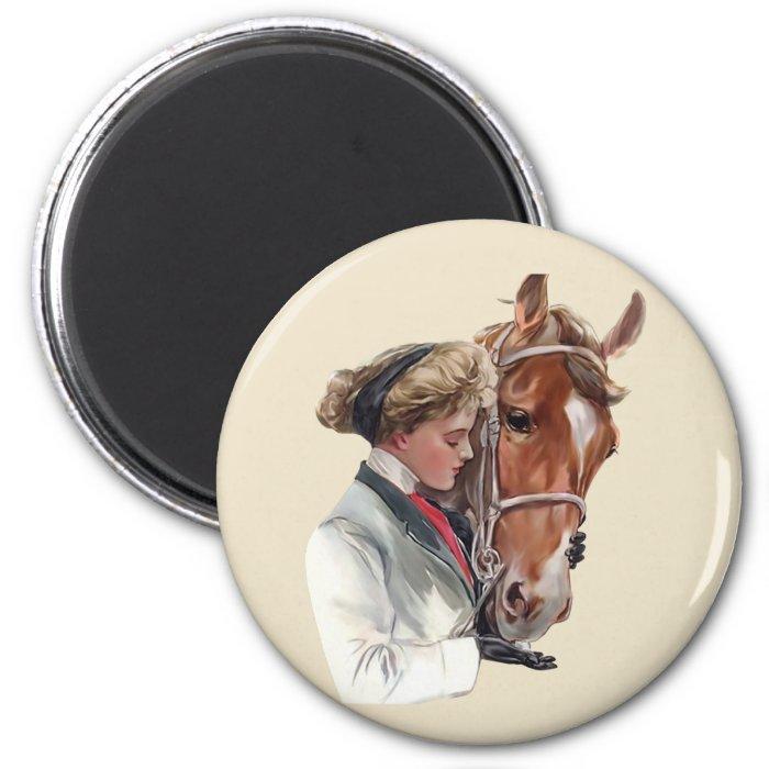 Favorite Horse 2 Inch Round Magnet