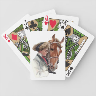 Favorite Horse Bicycle Playing Cards