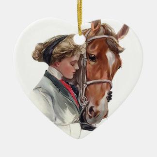 Favorite Horse Ceramic Ornament