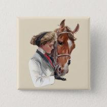Favorite Horse Pinback Button