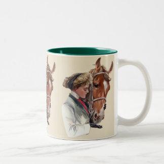 Favorite Horse Two-Tone Coffee Mug