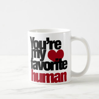 Favorite Human Love Coffee Mug