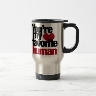 Favorite Human Love Travel Mug