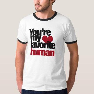 Favorite Human Love Tshirt