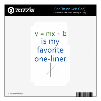 favorite one liner decals for iPod touch 4G