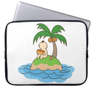 < Favorite pan > I love bread Laptop Computer Sleeves