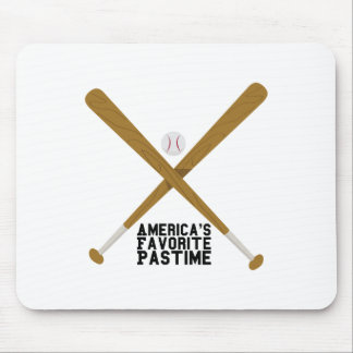 Favorite Pastime Mouse Pad