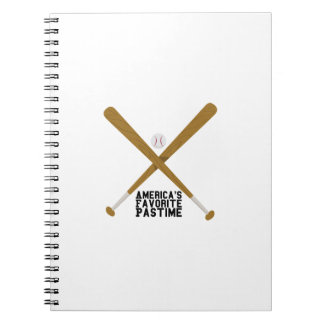 Favorite Pastime Notebook