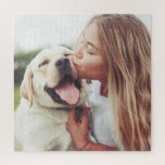 """Favorite Pets 20"""" x 20"""" Jigsaw Puzzle<br><div class=""""desc"""">What's that, girl? You've been shopping on Zazzle and ordered one of their photo puzzles? And you uploaded some of your most cute and charming pictures to the template? And the puzzle is made of durable cardboard, is mounted on chipboard, and comes with a matching carry case? Well girl, there's...</div>"""