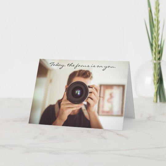 Favorite Photographer Birthday Card Zazzle