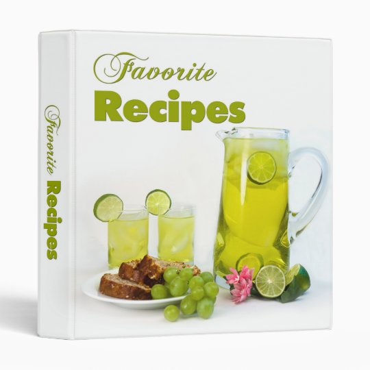 Favorite Recipes - Binder