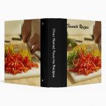 Favorite Recipes Cookbook Binder