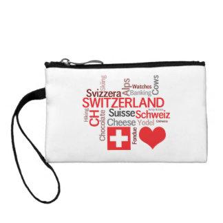 Favorite Swiss Things - I Love Switzerland Coin Purse