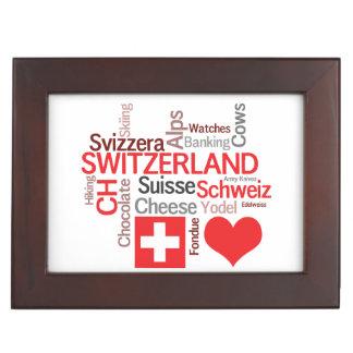 Favorite Swiss Things - I Love Switzerland Memory Box