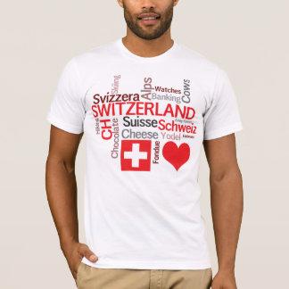 Favorite Swiss Things - I Love Switzerland T-Shirt