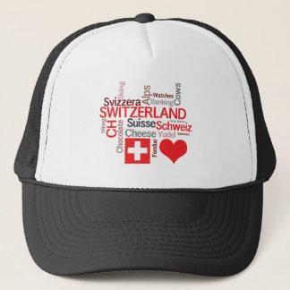 Favorite Swiss Things - I Love Switzerland Trucker Hat