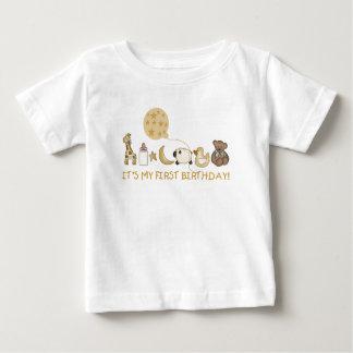 Favorite Things First Birthday T Shirt