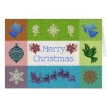 Favorite Things of Christmas - Sampler Christmas Card