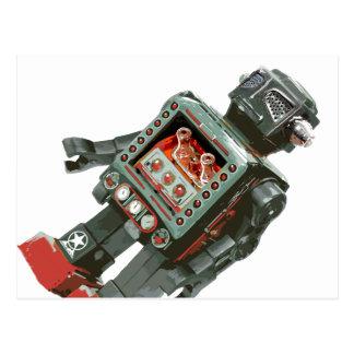 Favorite Toy Robot w Canons Postcard