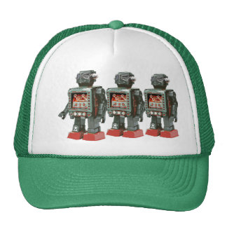 Favorite Toy Robot w Canons Trucker Hat