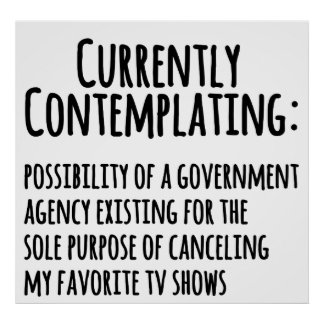 Favorite TV Shows Canceled by Govt. Poster