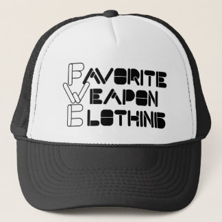 Favorite Weapon trucker hat