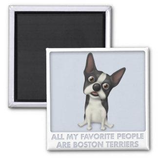 Favorito de Boston Terrier Imán Para Frigorifico