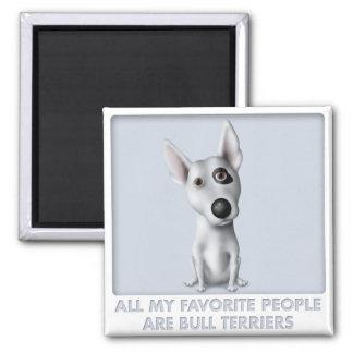 Favorito de bull terrier imán para frigorífico