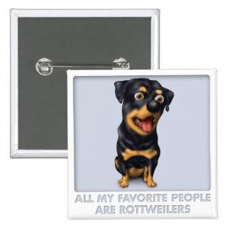 Favorito de Rottweiler Pins