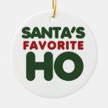 Favorito de Santas HO Ornaments Para Arbol De Navidad