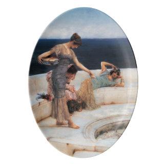 Favoritos de plata de Lawrence Alma-Tadema Badeja De Porcelana