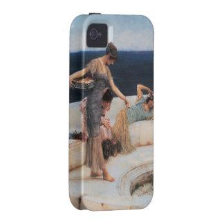 Favoritos de plata de Lawrence Alma-Tadema Case-Mate iPhone 4 Carcasas