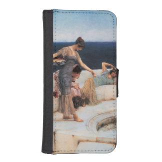 Favoritos de plata de Lawrence Alma-Tadema Funda Billetera Para Teléfono