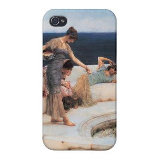 Favoritos de plata de Lawrence Alma-Tadema iPhone 4 Funda
