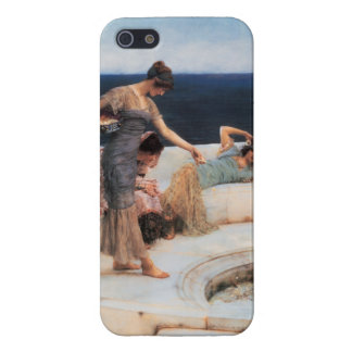 Favoritos de plata de Lawrence Alma-Tadema iPhone 5 Protectores