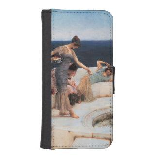 Favoritos de plata de Lawrence Alma-Tadema Fundas Tipo Billetera Para iPhone 5