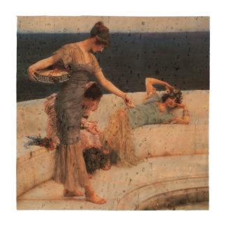 Favoritos de plata de Lawrence Alma-Tadema Posavasos