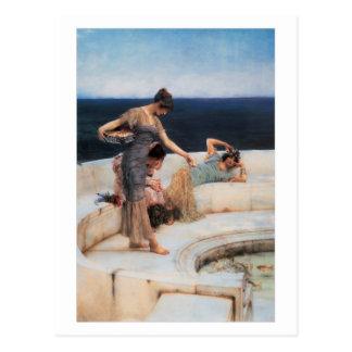 Favoritos de plata de Lawrence Alma-Tadema Tarjeta Postal