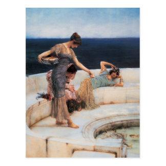 Favoritos de plata de Lawrence Alma-Tadema Postales