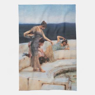 Favoritos de plata de Lawrence Alma-Tadema Toalla