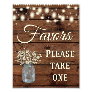 rusticweddings Favors Sign, Wedding Sign, Wedding Decor Photo