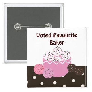Favourite Baker Button