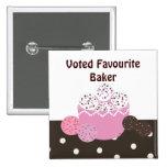 Favourite Baker Pins