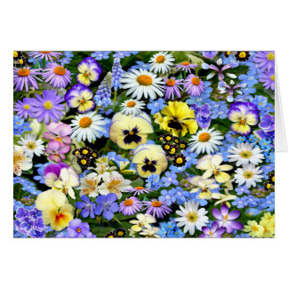 Favourite Flowers Card